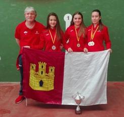 Tres fadriqueñas se proclaman Campeonas  de España en categoría Juvenil, en el Campeonato de Federaciones 2019