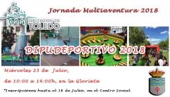 Dipudeportivo 2018 en La Villa de Don Fadrique