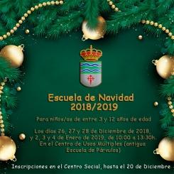 Escuela de Navidad 2018/2019