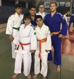 Seis judokas fadriqueños participan de forma exitosa en la última fase sector de Castilla-La Mancha