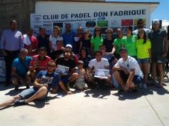 II Torneo de Pádel Masculino en La Villa de Don Fadrique