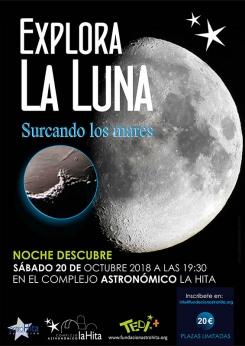 El Observatorio Astronómico de La Hita celebra el Día Internacional de la Luna el 20 de octubre con una actividad especial