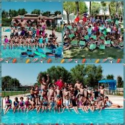 Finalizan con éxito los cursos de natación de este verano 2018