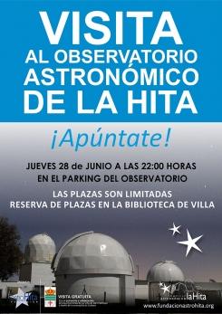 """Nueva Visita al Observatorio Astronómico """"La Hita"""""""
