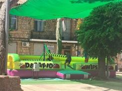 Unos 70 niños se han divertido en la Jornada de Multiaventura 'Dipudeportivo2018'