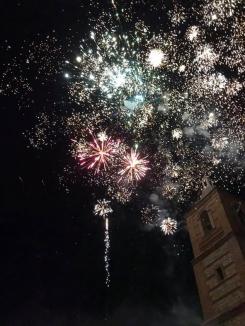 Un increíble espectáculo de fuegos artificiales, ponen el broche de oro a las XII Jornadas Fadriqueñas