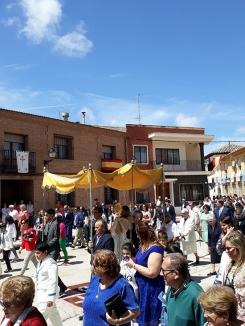 La Villa de Don Fadrique se engalana para la celebración del Corpus