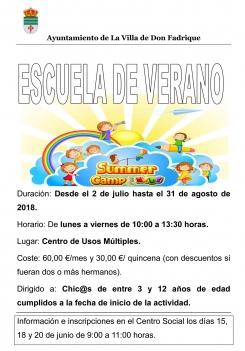 Escuela de Verano 2018