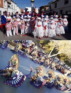El 'Regreso de  Mary Popins' y el 'Imperio del Dios Jaguar', triunfadores del Carnaval Fadriqueño
