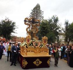 La Villa de don Fadrique volvió a rendir todos los honores a su patrón, el Santísimo Cristo del Consuelo...